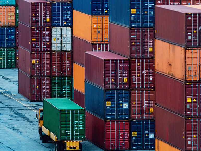 A UBCO student project developed a method to make shipping containers immediately identifiable by using artificial intelligence.