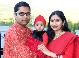 The Haque family