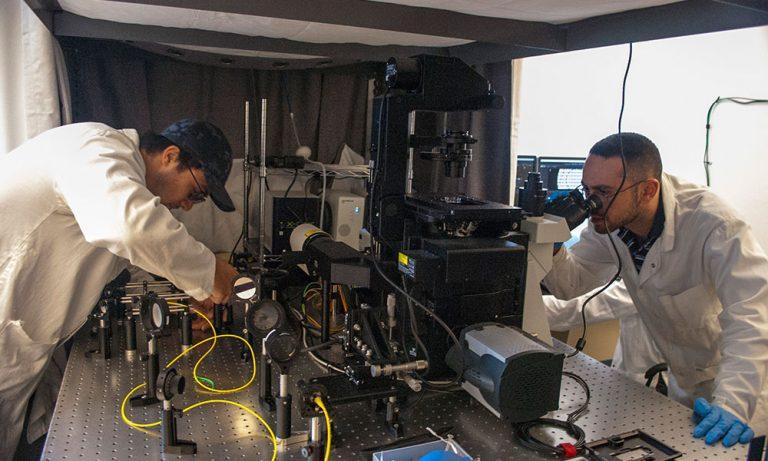 Researchers in Isaac Li's lab