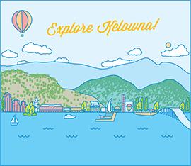Explore Kelowna! by Ashleigh Green