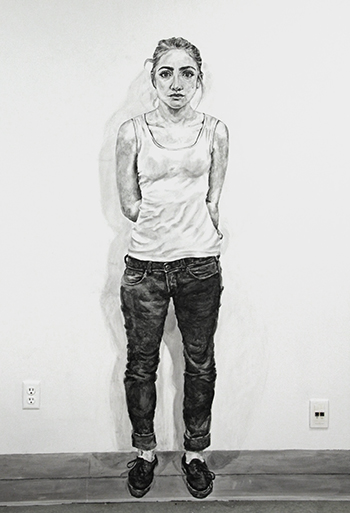 Self Portrait, by Sage Sidley
