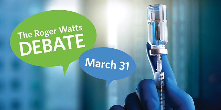 Roger Watts Debate 2021