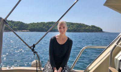 Hannah Caldwell in Cavtat, Croatia